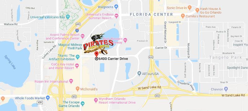 Pirates Dinner Adventure Theater Complex Google Map