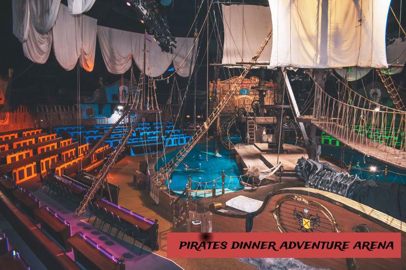 Pirates Dinner Adventure Main Theater