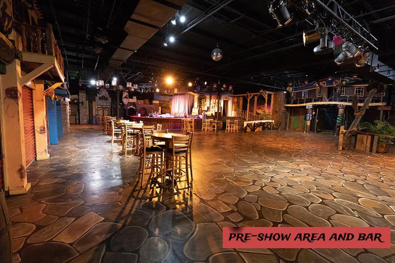 Pre-Show Deck Area